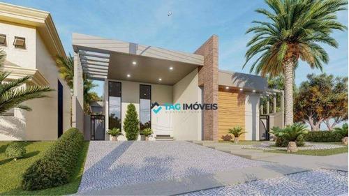 Imagem 1 de 24 de Casa Com 3 Dormitórios À Venda, 203 M² Por R$ 1.574.000,00 - Parque Das Quaresmeiras - Campinas/sp - Ca0744