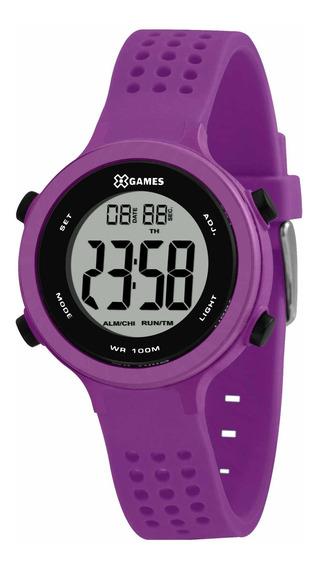 Relógio X Games Feminino Xfppd073 Bxux Roxo - Refinado