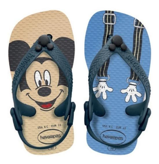Zonazero Havaianas Ojotas Baby New Disney Classics