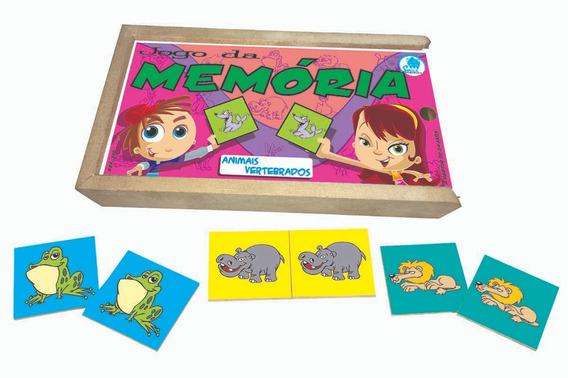 Jogo Da Memória Infantil Animais Vertebrados