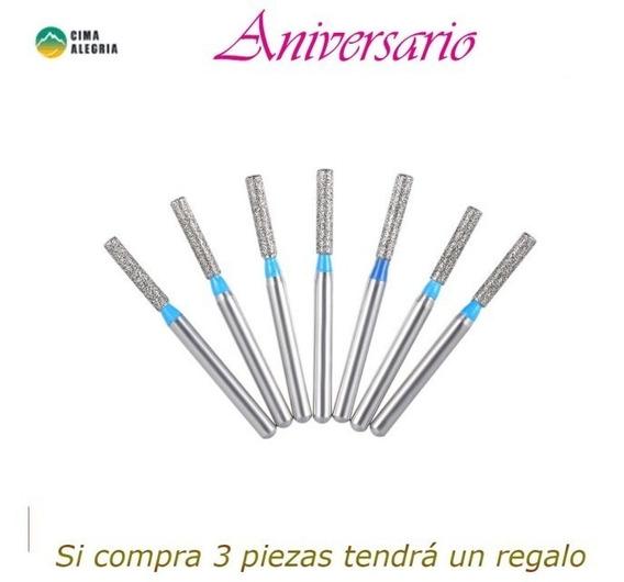 Perforador De Dentadura Diamente 50 Piezas Dentista