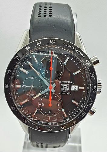 Relógio Tag Heuer Carrera, Calibre 16, Completo E Impecável