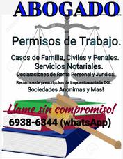 Servicio Profesional En Consultorias Y Tramites Legales.