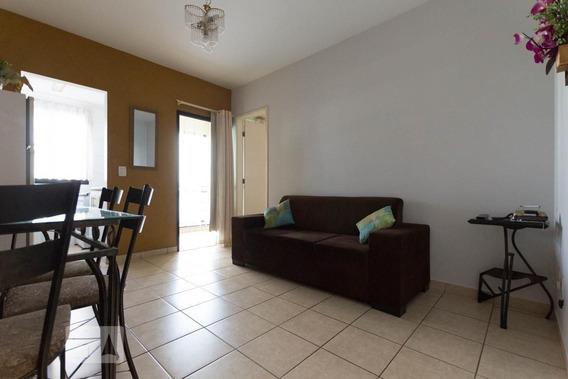 Apartamento No 5º Andar Com 1 Dormitório E 1 Garagem - Id: 892952232 - 252232