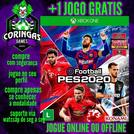 Pes 2020 - Xbox One - Mídia Digital + Brinde