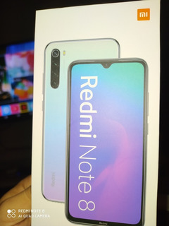 Xiaomi Redmi Note 8 Moonliight White