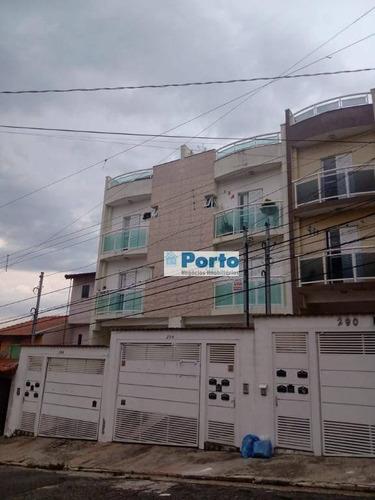 Cobertura À Venda, 100 M² Por R$ 305.000,00 - Parque Oratório - Santo André/sp - Co0050