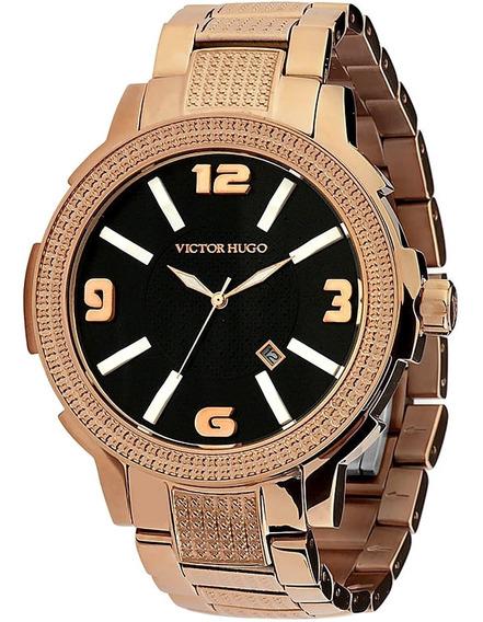 Relógio Feminino Victor Hugo 10086lsr/02m Rose