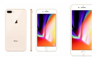 iPhone 8 Plus 64gb Dourado.