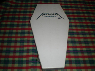 Metallica / Death Magnetic Box Ataud Nuevo C57