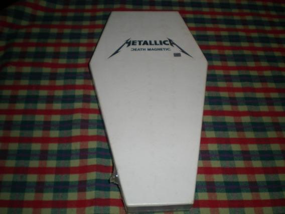 Metallica / Death Magnetic Box Ataud Nuevo C57