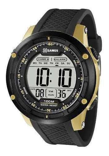 Relógio X-games Masculino Xtyle Preto Xmppd423-bxpx Garantia