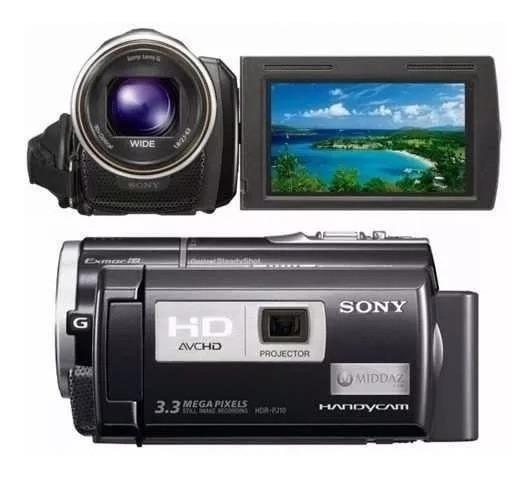 Filmadora Sony Hdr-pj10 Lcd 3 Projetor Integrado Full Hd Top