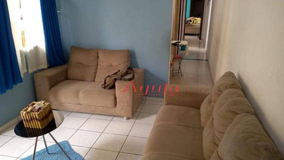 Casa Com 3 Dormitórios À Venda, 174 M² Por R$ 370.000 - Parque Novo Oratório - Santo André/sp - Ca0459