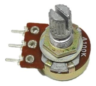 Potenciometro Alpha A100k A 100k 16mm P/ Guitarra