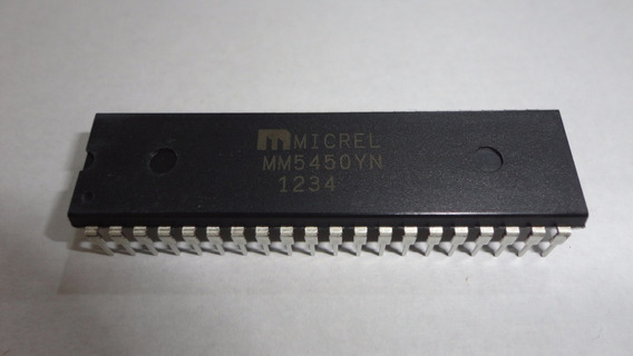 Circuito Integrado Mm5450yn Dip40 Lote C/ 2pç