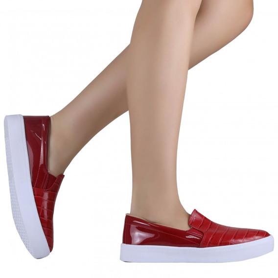Tênis Feminino Zariff Shoes Slip On