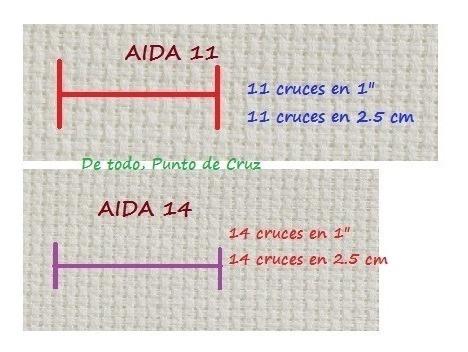 Cuadro ChicoTela para Bordar AIDA #14