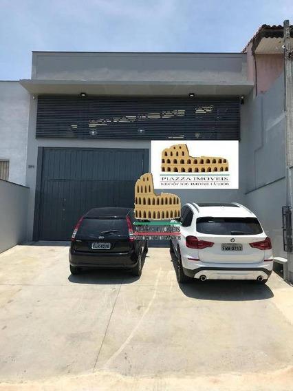Barracão À Venda, 220 M² Por R$ 750.000 - Jardim Piazza Di Roma I - Sorocaba/sp - Ba0025