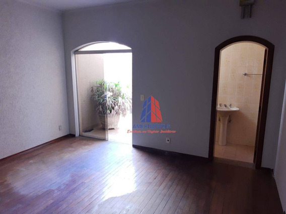 Sala Para Alugar, 270 M² Por R$ 3.500,00/mês - Centro - Americana/sp - Sa0045
