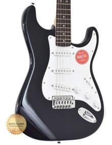 Guitarra Fender Squier Bullet Strato Black Sss Regulada!!!