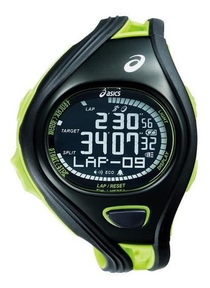 Relógio De Pulso Asics Challenge Super - Preto/verde
