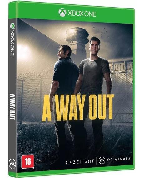 A Way Out Xbox One Midia Digital + Brinde
