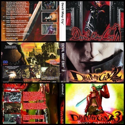 Ps2 - Devil May Cry - 3 Dvds - Patch Desbloqueado