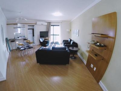 Flat Para Locação, Paraíso - 03 Dormitórios (02 Suítes) E 02 Vagas - Fl0021