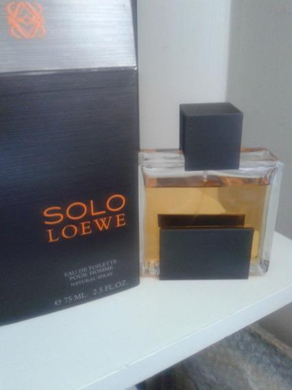 Perfume Solo Loewe 65/75 Ml Raridade