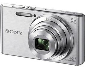 Câmera Sony Dsc-w830 Prata 20.1 Mp Zoom 8x W830