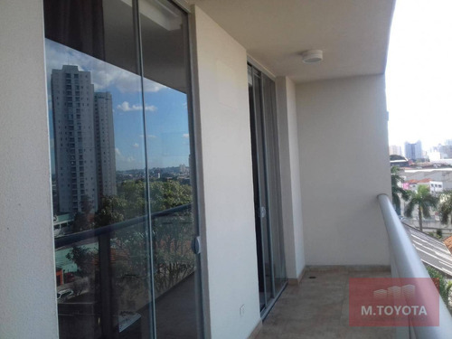 Studio Com 1 Dormitório, 36 M² - Venda Por R$ 265.000,00 Ou Aluguel Por R$ 2.000,00/mês - Vila Augusta - Guarulhos/sp - St0002
