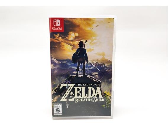 Jogo The Legend Of Zelda Breath Of The Wild Nintendo Switch