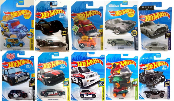 Hot Wheels Pack X10 Originales Autitos Hotwheels Surtidos