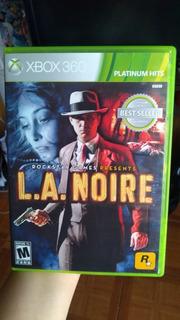 L.a. Noire Xbox 360 Un Solo Uso