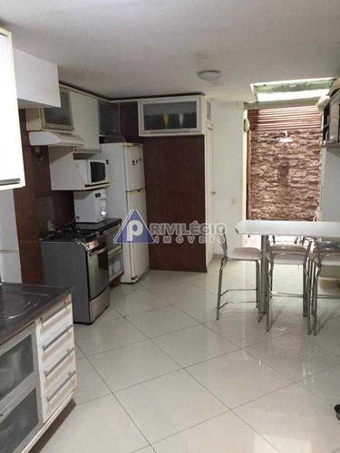 Imagem 1 de 13 de Apartamento À Venda, 3 Quartos, 1 Suíte, 1 Vaga, Leblon - Rio De Janeiro/rj - 6906