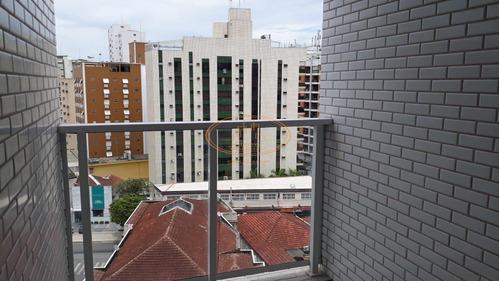 Apartamento  Com 2 Dormitório(s) Localizado(a) No Bairro Boqueirão Em Santos / Santos  - 6801
