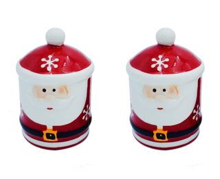 Salero Pimentero Navidad Santa Claus Regalo Navideño