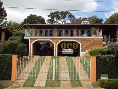 Excelente Chácara Condomínio Fechado Com 3 Casas E Área De Lazer, Piscina. Divisa Morungaba/itatiba-sp - Ch0013