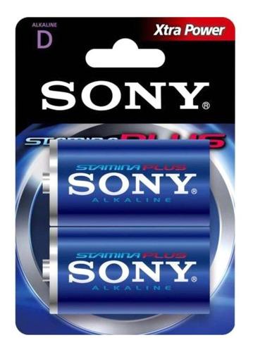 Pilha D Sony Alcalina Xtra Power C/2 Dlr20