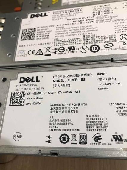 Fonte Dell 870w Poweredge R710 T610