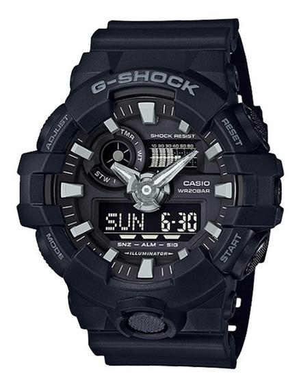 Relogio Casio G-shock Ga700 Nova Linha Ga700-1bdr Original