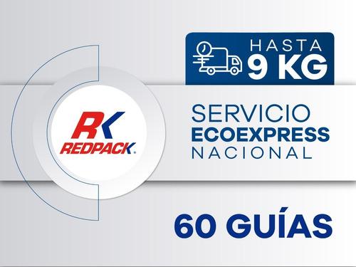 60 Guías Prepagadas  Ecoexpress Hasta 9 Kg