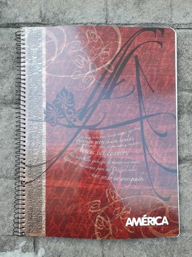 Cuaderno Universitario Cuadriculado X 76 Hojas América