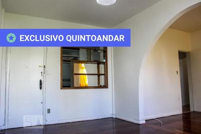 Apartamento No 1º Andar Com 2 Dormitórios E 1 Garagem - Id: 892908683 - 208683