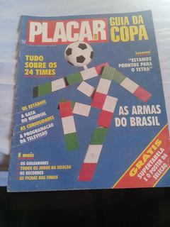Revista Placar Ed. 1042-a - Guia Da Copa Do Mundo 1990