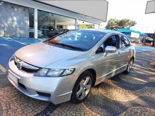 Honda Civic 2010 1.8 Lxl Couro Flex Aut. 4p