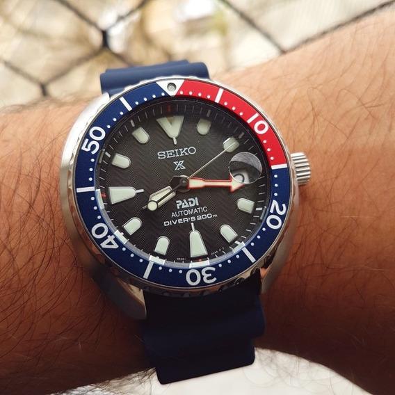 Relógio Seiko Mini Turtle Padi Srpc41 P. Entrega Novo