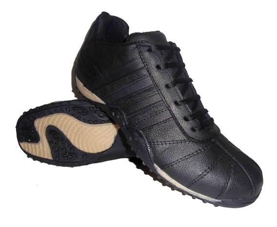 Zapatillas De Cuero Legítimo Talle 46