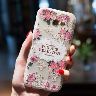 Case Capa Samsung Galaxy S7 Anti Shock Impacto Flores